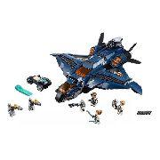 Lego 76126 - Marvel Super Heroes - Quinjet Dos Vingadores