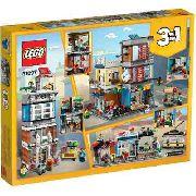 Lego 31097 Creator Casa Da Cidade Com Loja De Animais E Café