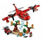 Lego City 60217 - Avião De Combate Ao Fogo Promoção