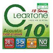 Encordoamento Cleartone Violão 12 Cordas Phosphor Bronze