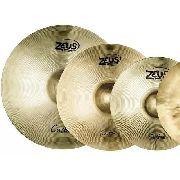 Kit De Pratos Zeus Custom Set E 10 14 16 18 20 + Bag