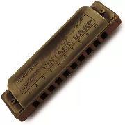 Gaita Harmônica Hering 10120 Kit Vintage Harp A-c-d-e-f-g