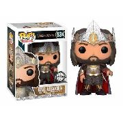 Funko Pop! Lord Of The Rings - Exclusive King Aragorn #534