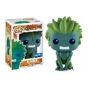 Pop! Funko Street Fighter Blanka Green 140 - Exclusive