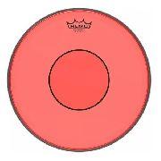 Pele Caixa Tom 14 Remo Powerstroke 77 Colortone Vermelha