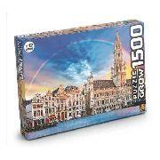 Quebra Cabeça 1500 Peças Bruxelas - Grow 3736