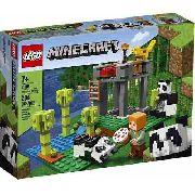 Lego 21158 Minecraft - A Creche Dos Pandas + Frete