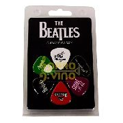 Palheta Violão Guitarra The Beatles Tb4 Pct 6 Unidades 073mm