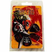 Palheta Violão/guitarra Guns N' Roses 6 Unidades Promoção