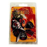 Kit C/3 Pack De Palheta 6 Un Cada- Kiss, Ac/dc, Guns N'roses