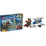 Lego City 60173 Detenção Na Montanha - Original