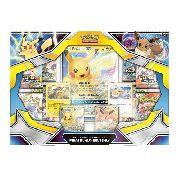 Pokémon Box Pikachu-gx E Eevee Gx - Copag Original