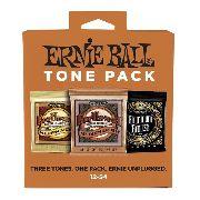 Tone Pack Acoustic Ernie Ball Violao Aço 012 3313 Kit Com 3