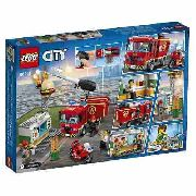 Lego 60214 City - Combate Ao Fogo No Bar De Hambúrgueres