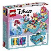 Lego Disney 43176 - Aventuras Do Livro De Contos Da Ariel