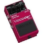 Pedal Boss Vo-1 Vocoder Vocal Guitarra Vo1 Talk Box C/ Nota