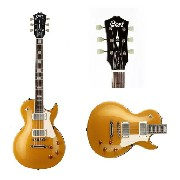Guitarra Cort Les Paul Classic Rock Cr 200 Gt Gold Top