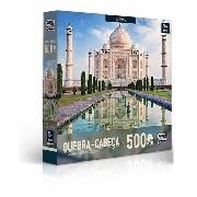 Quebra Cabeça 500 Pçs Taj Mahal Maravilhas Do Mundo Toyster
