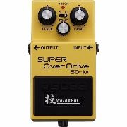 Pedal Boss Super Overdrive Sd1w Waza Craft 3203