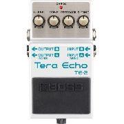Pedal De Efeito Para Guitarra Boss Te2 Tera Echo