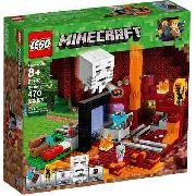Lego 21143 Minecraft - O Portal Do Nether Original