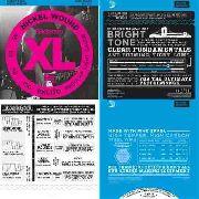 Encordoamento Baixo D'addario Daddario 4 Cordas (045) Exl170