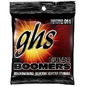 Encordoamento Guitarra Ghs Guitar Boomers Gbm 011 Usa
