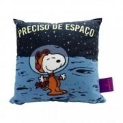 Almofada Fibra Veludo 25x25cm Space Snoopy - Zona Criativa