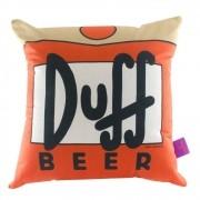 Almofada Fibra Veludo 40x40cm Duff Beer 10063285 - Zona Criativa