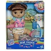 Baby Alive Passos E Sorrisos Luz E Som Morena - Hasbro E5248