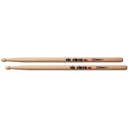 Baqueta Vic Firth Corpsmaster MS1 Snare Sticks Padrão 2B Maior (10291) Estudo ou Tocar com mais Peso