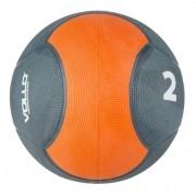 Bola Medicine Ball 2 Kg Peso De Borracha - Vollo