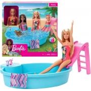 Boneca Barbie Piscina Chique GHL91- Mattel