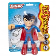 Boneco Flexível Dc Liga Da Justiça Superman 10 Cm - Mattel