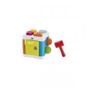 Brinquedo De Atividades Cubo Bate-bate 2 Em 1 Chicco (10m+)