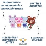 Brinquedo de Costura - Alinhavos dos Bichinhos - Babebi 6050