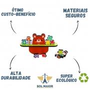 Brinquedo Educativo - Equilibre o Ursinho - Babebi 6044