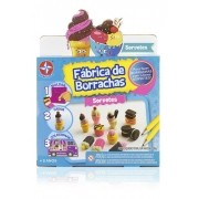 Brinquedo Infantil Fabrica De Borrachas Sorvetes - Estrela