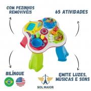 Brinquedos Mesa De Atividades Bilíngue - Chicco