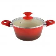 Caçarola Ceramic Class Vermelha - Class Home
