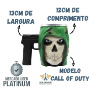 Caneca Formato 3d 250ml Call of Duty Zona Criativa