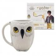 Caneca Porcelana Formato 3d 250ml Hedwig Harry Potter Zona Criativa