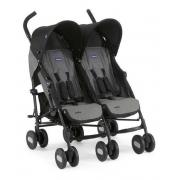 Carrinho de Bebê Gemeos Ohlala Twin Black Night - Chicco