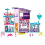 Casinha de Boneca Mega Casa de Surpresas Polly Pocket GFR12