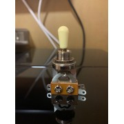 Chave Seletora Custom Sound CCA 3 Modelo Les Paul Preto / Creme