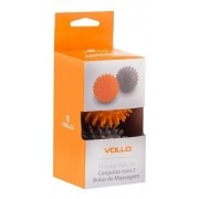 Conjunto Com 2 Bolas Massageadoras - Vollo Vp1058