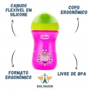 Copo Easy Cup 266ml (12m+) Rosa - Chicco
