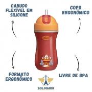 Copo Sport Cup 14m+ (266ml) Laranja - Chicco
