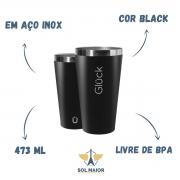 Copo Térmico Para Cerveja ST Sleek 473ml Inox - Gluck
