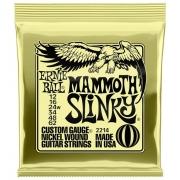 Corda 012-062 Guitarra Mammoth Slinky Nickel 2214 Ernie ball